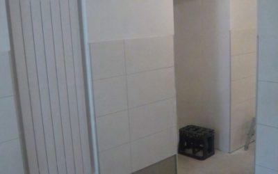 Toilettenanlage für das Atelier